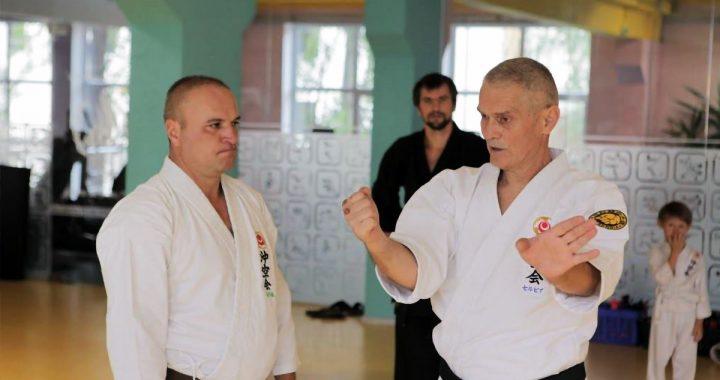 Боевые искусства в Украине. Уэчи-рю – школа традиционного карате